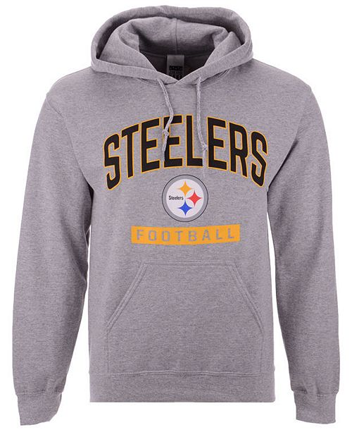 37171813 ... Authentic NFL Apparel Men's Pittsburgh Steelers Gym Class Hoodie ...