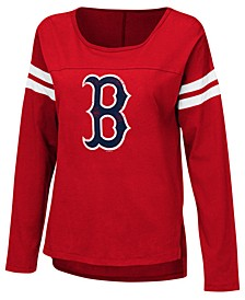 Women's Boston Red Sox Free Agent Long Sleeve T-Shirt