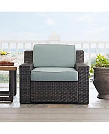 Beaufort Arm Chair With Mist Cushion