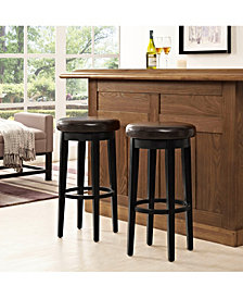 Mitchell Swivel Bar Stool With Cushion Set Of 2