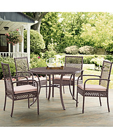 Tribeca Dining Set 4 Dining Chairs