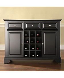 Lafayette Buffet Server Sideboard Cabinet With Wine Storage