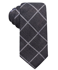 Tasso Elba Men's Grid Tie, Created for Macy's