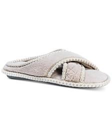 MUK LUKS® Women's Ada Micro-Chenille Crisscross Slippers