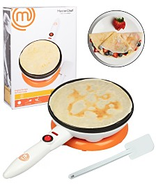 MasterChef Cordless Crepe Maker with Spatula