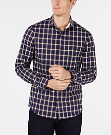 Michael Kors Men's Mercer Slim-Fit Stretch Plaid Shirt