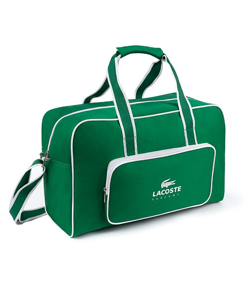 d0ef29ed2349 Lacoste FREE Duffel Bag with  65 qualifying Lacoste fragrance purchase