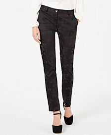 MICHAEL Michael Kors Flocked Print Miranda Pants, In Regular & Petite Sizes