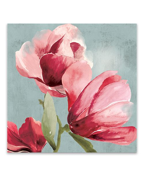 Artissimo Designs Sweetpea I Hand Embellished Canvas