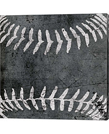 Baseball by Aubree Perrenoud Canvas Art