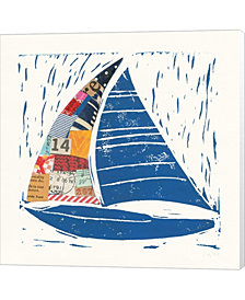 Nautical Collage IV by Courtney Prahl Canvas Art