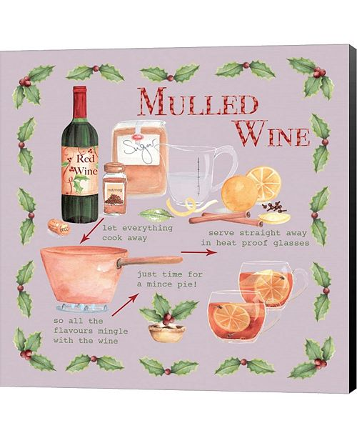 Metaverse Mulled Wine Christma By P.S. Art Studios Canvas Art