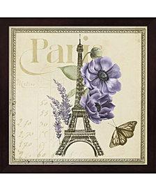 Paris Ephemera VI by Grace Popp Framed Art