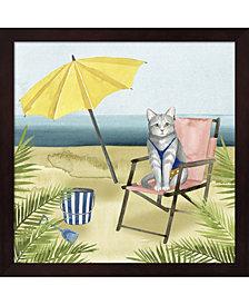 Coastal Kitties II By Grace Popp Framed Art