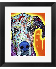Great Dane By Dean Russo Framed Art
