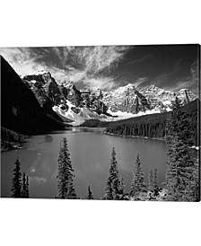 Wenkchemna Peaks Ref By Adam Jones / Danita Delimont Canvas Art