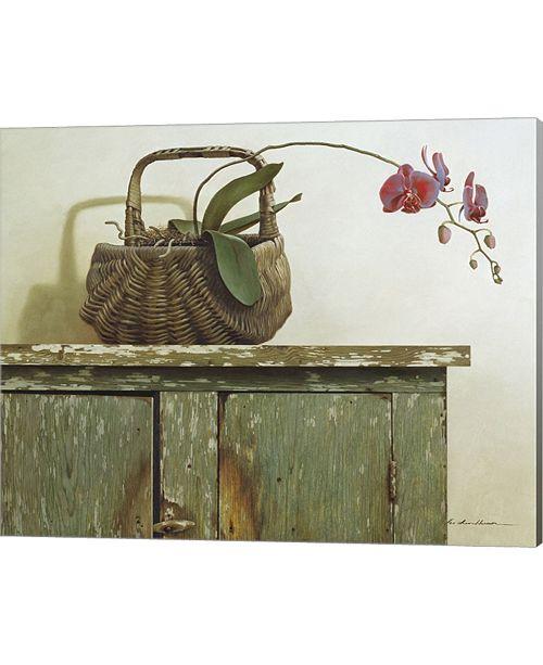 Metaverse Orchid Basket By Zhen-Huan Lu Canvas Art