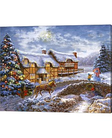 Country Cottages By Nicky Boehme Canvas Art