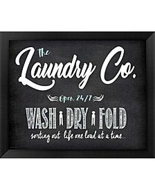Laundry Co. By Jo Moulton Framed Art