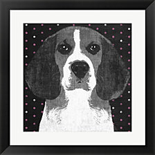 Beagle by Posters International Studio Framed Art