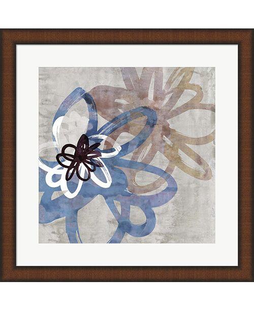Metaverse Scribbled Floral I By Edward Selkirk Framed Art