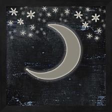 Good Night Moose2 Surface Pattern 6 By Lightboxjournal Framed Art