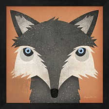 Timber Wolf By Ryan Fowler Framed Art