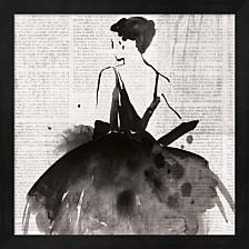 Spotlight I By Pi Galerie Framed Art