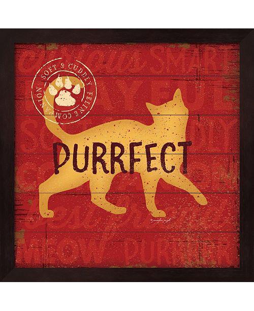 Metaverse Purrrfect Cat By Jennifer Pugh Framed Art