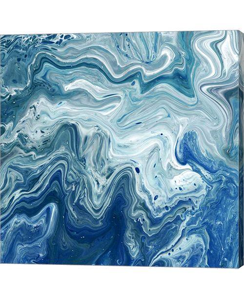 Metaverse Indigo Minerals I By Jarman Fagalde Canvas Art