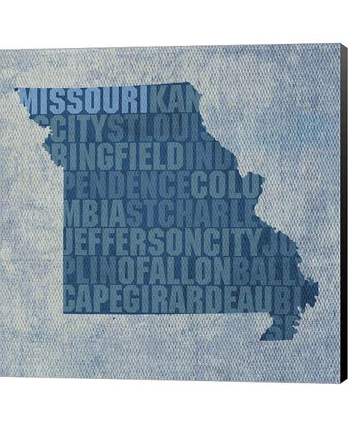 Metaverse Missouri State Words By David Bowman Canvas Art
