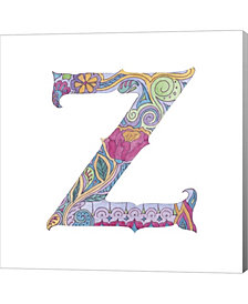 Z By Green Girl Canvas Canvas Art