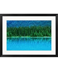 Emerald Lake Boathou By Rob Tilley / Danita Delimont Framed Art