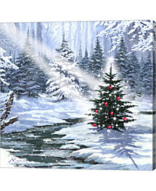 Little Christmas Tre By The Macneil Studio Canvas Art