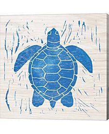 Sea Creature Turtle By Courtney Prahl Canvas Art