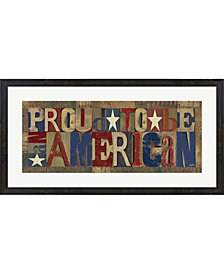 Patriotic Printer Bl By Tara Reed Framed Art