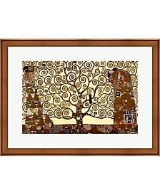 Tree Of Life C.1909 By Gustav Klimt Framed Art