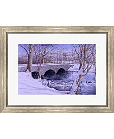 To Grandmothers Hous By Dan Campanelli Framed Art