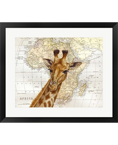 Metaverse Out Of Africa By Jane Wilson Framed Art