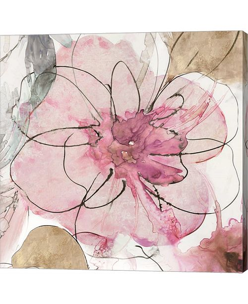 Metaverse Pretty In Pink I By Asia Jensen Canvas Art