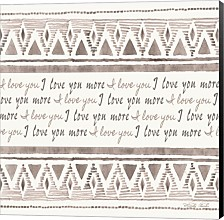 I Love You More By Cindy Jacobs Canvas Art