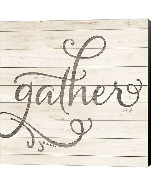 Metaverse Simple Words - Gather By Marla Rae Canvas Art