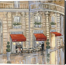 Touring Paris Couple Ii By Julia Purinton Canvas Art