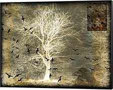 A Raven's World Spirit Tree by LightBoxJournal Canvas Art