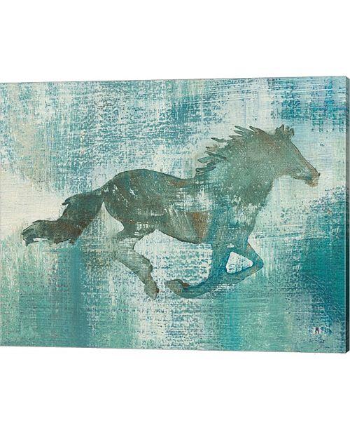 Metaverse Mustang Study By Studio Mousseau Canvas Art