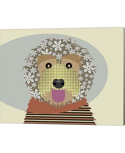 Metaverse Labradoodle By Lanre Adefioye Canvas Art