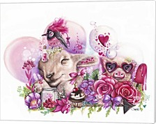 Dreaming Of A Sweet Valentine By Sheena Pike Art And Illustration Canvas Art