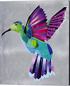 Hummingbird by Artpoptart Canvas Art