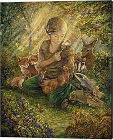Forest Friends By Josephine Wall Canvas Art