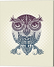 Baby Egypt Owl By Rachel Caldwell Canvas Art